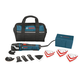 Bosch MX30EC-21 3.0 Amp Multi-X Oscillating Tool Kit with 21 Accessories