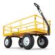 Gorilla Carts GOR1201B 1,200 lb. Capacity Steel Utility Cart