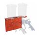 AES Industires 166 Magnetic Spray Gun Holder - Dual