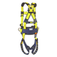 DBI-Sala 70007407219 Full-Body Harness, Tongue Buckles, Side/Back D-Rings, X-Large, 420lb Capacity