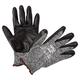 AnsellPro 103384 HyFlex Foam Gloves, Dark Gray/Black, Size 9, 12 Pairs
