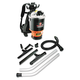 Hoover Commercial C2401 Backpack Vacuum, 9.2lb, Black