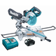 Makita LXSL01 18V Cordless LXT Lithium-Ion 7-1/2 in. Dual Slide Compound Miter Saw Kit