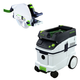 Festool P36561438 Plunge Cut Circular Saw in T-Loc with CT 36 E 9.5 Gallon HEPA Dust Extractor