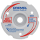 Dremel SM600 3 in. Multi-Purpose Flush Cut Carbide Wheel