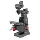 JET 690412 230/460V Variable Speed Milling Machine with 3-Axis ACU-RITE VUE DRO (Knee) and X/Y-Axis Powerfeeds