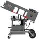 JET 424463 115V 1 HP Portable Dual Miter Bandsaw