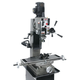 JET 351159 JMD-45GH Geared Head Square Column Mill Drill with Newall DP500 2-Axis DRO and X-Powerfeed