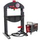 Edwards HAT4020 40 Ton Shop Press with 230V 3-Phase Porta-Power Unit