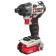 Factory Reconditioned Porter-Cable PCCK647LBR 20V MAX Lithium-Ion Brushless 1/4 in. Impact Driver Kit