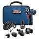 Bosch GSR12V-140FCB22 12V Max Lithium-Ion FlexiClick 5-in-1 1/4 in. Cordless Drill Driver System Kit (2 Ah)