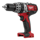 Factory Reconditioned Milwaukee 2602-80 M18 18V Cordless Lithium-Ion 1/2 in. Hammer Drill Driver (Bare Tool)