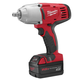 Factory Reconditioned Milwaukee 2662-82 M18 18V Cordless 1/2 in. Lithium-Ion High Torque Impact Wrench Kit with 2 Batteries