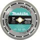 Makita A-94611 7 in. Turbo Rim Hard Material Diamond Saw Blade