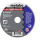 Metabo 616366000 20 in. x 3/16 in. A30R Type 1 Cutting Wheel (5 Pack)