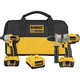 Factory Reconditioned Dewalt DCK275LR 18V XRP Cordless Lithium-Ion 1/2 in. Hammer Drill and Impact Driver Combo Kit