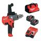 Milwaukee 2810-22 M18 Fuel Mud Mixer With 180 Degree Handle Kit