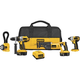 Factory Reconditioned Dewalt DCK455XR 18V XRP Cordless 4-Tool Combo Kit