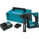 Makita RH01R1 12V MAX CXT 2.0 Ah Lithium-Ion Brushless Cordless 5/8 in. Rotary Hammer Kit, accepts SDS-PLUS bits