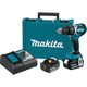 Makita XPH12T 18V LXT Lithium-Ion Compact Brushless 1/2 in. Cordless Hammer Drill Driver Kit (5 Ah)