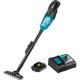 Makita XLC02R1B 18V LXT 2.0 Ah Lithium-Ion Compact Cordless Vacuum Kit
