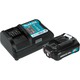 Makita BL1021BDC1 12V max CXT 2 Ah Lithium-Ion Battery and Charger Kit