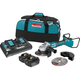Makita XAG12PT1 18V X2 LXT Lithium-Ion (36V) Brushless Cordless 7-in Paddle Switch Cut-Off/Angle Grinder Kit, with Electric Brake (5.0Ah)