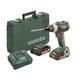 Metabo 602316520 18V LT SB 18 BL Lithium-Ion Brushless 1/2 in. Cordless Hammer Drill kit (2 Ah)