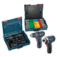 Bosch CLPK22-120AL 12V Max Cordless Lithium-Ion 3/8 in. Drill Driver and Impact Driver Combo Kit with L-BOXX Case