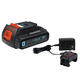 Black & Decker LBXR20BTK 20V MAX 1.5 Ah Lithium-Ion SMARTECH Battery and Charger Kit