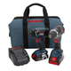 Bosch CLPK243-181 18V Cordless Lithium-Ion 1/2 in. Hammer Drill and Impact Driver Combo Kit