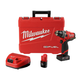 Milwaukee 2504-22 M12 FUEL Lithium-Ion 1/2 in. Cordless Hammer Drill Kit (2 Ah / 4 Ah)