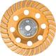 Makita A-98871 5 in. Low-Vibration Diamond Cup Wheel, Turbo