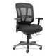 Alera ALEEN4217 Eon Series Multifunction Wire Mechanism, Mid-Back Mesh Chair, Black