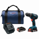 Factory Reconditioned Bosch HDS181A-02-RT 18V Lithium-Ion 1/2 in. Cordless Hammer Drill Driver Kit (2 Ah)