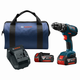 Factory Reconditioned Bosch HDS181A-01-RT 18V Lithium-Ion 1/2 in. Cordless Hammer Drill Driver Kit (4 Ah)
