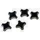 JET 751017 R5 Carbide Inserts Round for CHAMJB-10R (5 Pcs)