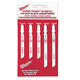 Milwaukee 49-22-1178 5-Piece T-Shank Jigsaw Blade Set
