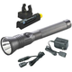 Streamlight 75882 Stinger Dual Switch LED HP Rechargeable Flashlight Extra Battery and Piggyback Charger (Black)