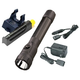 Streamlight 76832 PolyStinger Dual Switch LED Rechargeable Flashlight Extra Battery and Piggyback Charger (Black)