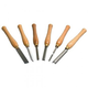 Delta 46-626 Set of 6 High-Speed Steel Turning Tools