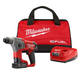 Factory Reconditioned Milwaukee 2416-81XC M12 FUEL 4.0 Ah Cordless Lithium-Ion 5/8 in. SDS Plus Rotary Hammer Kit