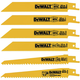 Dewalt DW4856 6-Piece Reciprocating Saw Blade Set
