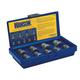 Irwin Hanson 54019 9-Piece Metric Bolt Extractor Set