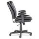 OIF OIFST4819 Executive Swivel/Tilt Chair (Fixed T-Bar Arms/ Black)