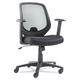 OIF OIFCD4218 Swivel/Tilt Mesh Mid-Back Chair (Height Adjustable T-Bar Arms/Black)