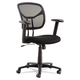 OIF OIFMT4818 Swivel/tilt Mesh Task Chair (Height Adjustable T-Bar Arms-Black/chrome)