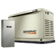 Generac 70301 Guardian Series 9/8 KW Air-Cooled Standby Generator with Wi-Fi, Aluminum Enclosure, 16 Circuit LC NEMA3