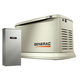 Generac 70432 Guardian Series 22 KW/19.5 KW Air Cooled Home Standby Generator with Wi-Fi with Whole House 200 Amp Transfer Switch (non CUL)
