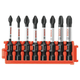Bosch CCSPHV208 8-Piece Impact Tough Phillips 2 in. Power Bits with Clip for Custom Case System